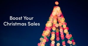 Boost christmas sales