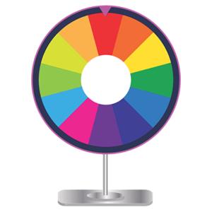 Prize Wheel Trade Show Game