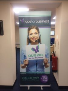 office banner stands