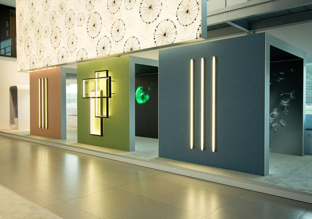 Minimalist Design Exhibition Stand