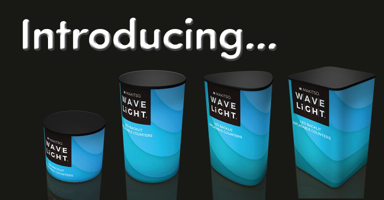 Introducing the Wavelight® Air Backlit Inflatable Counter