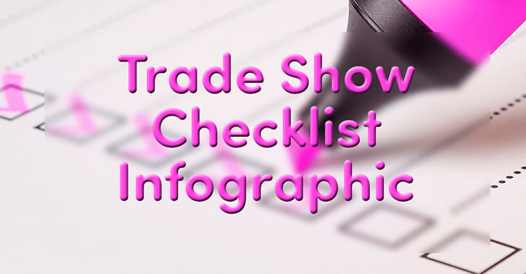 Trade Show Checklist Infographic