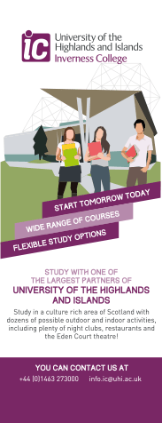 University of the Highlands & Islands - Second Place