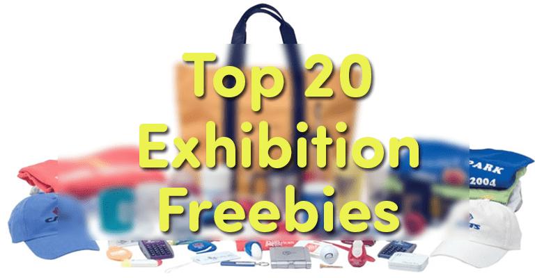 Top 20 Unique Exhibition Freebies