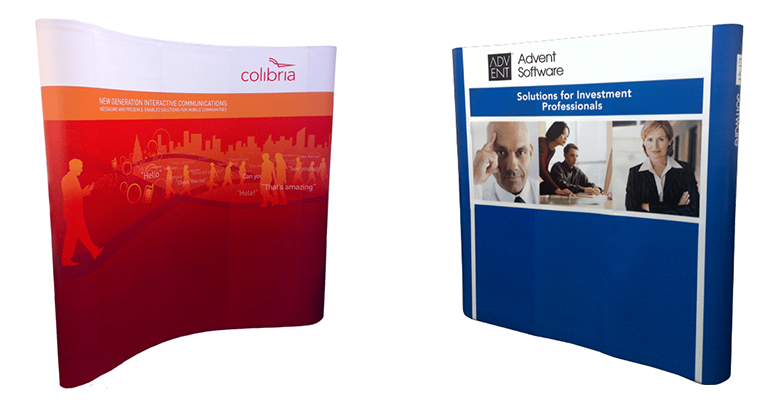 New XL and Double-Sided Pop Up Displays
