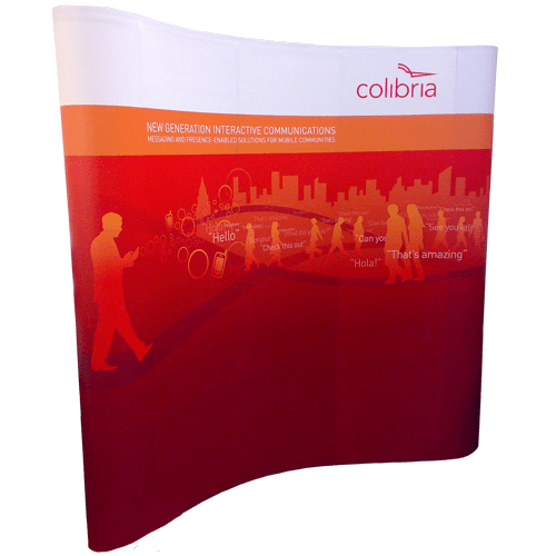XL Curved Pop Up Display