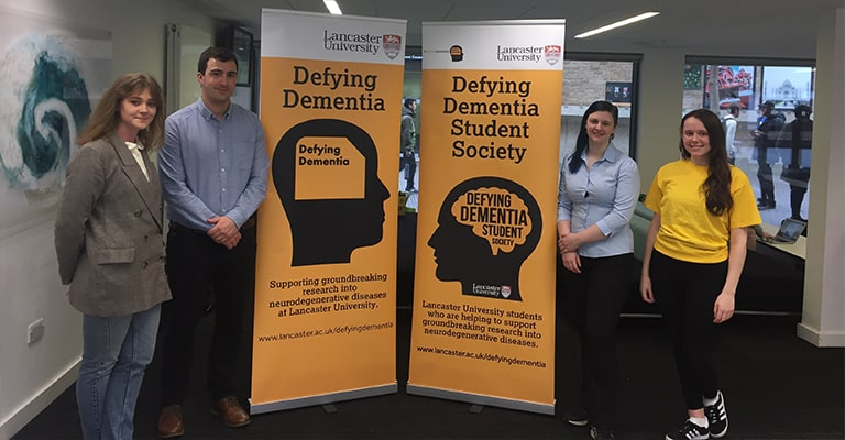 Display Wizard Support Defying Dementia Campaign