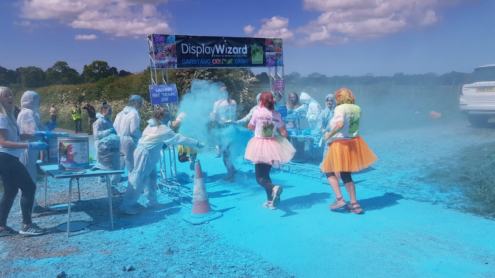 Display Wizard Support Garstang 2019 Colour Dash