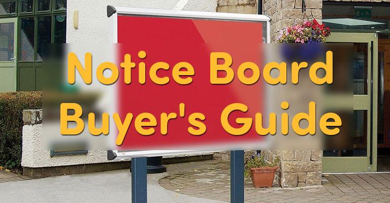 Notice Board Buyer's Guide