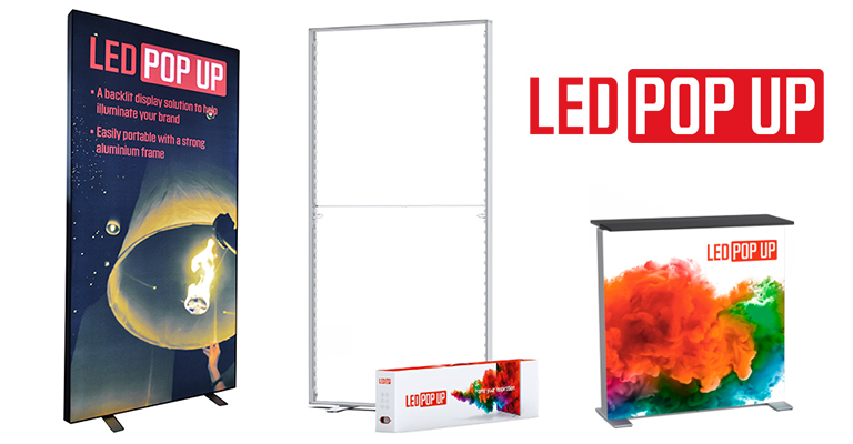 Introducing the LED Pop Up system