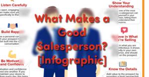 What Makes a Good Sales Person